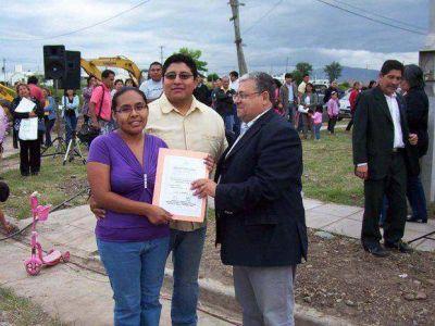 En Palpalá entregaron cien viviendas a afiliados de Upcn