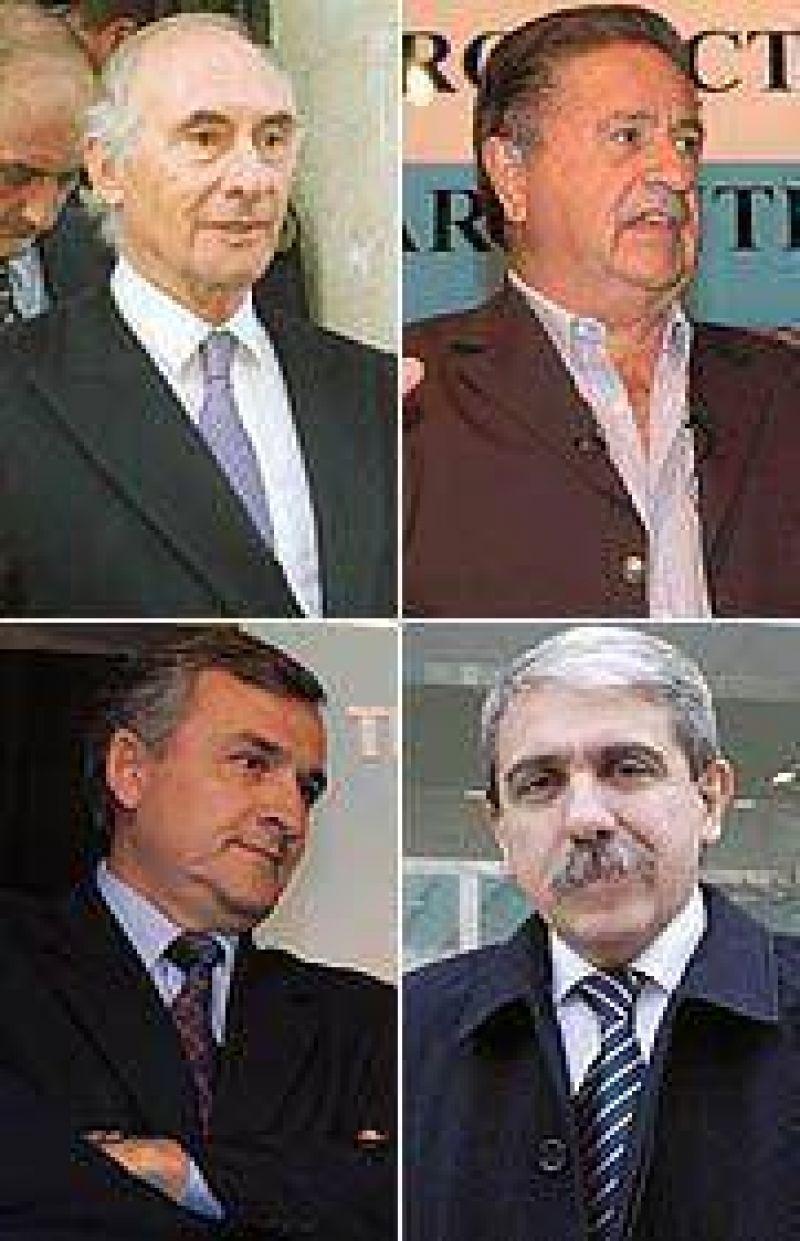 El arco pol�tico nacional distingui� la figura del ex presidente