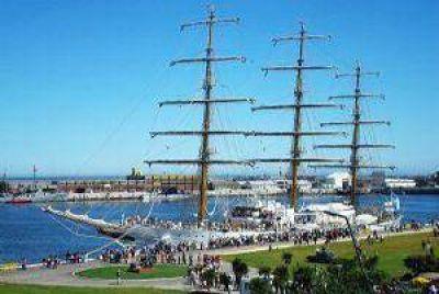 A 11 d�as de llegar a Mar del Plata, la fragata ya navega la altura de Brasil