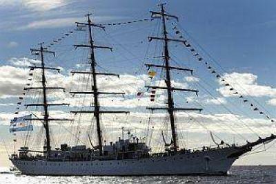 La Fragata Libertad, m�s cerca: ya navega por Brasil