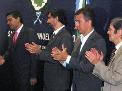 """Aguilar destacó que el Banco del Chaco financia """"la inversión productiva y el desarrollo"""""""