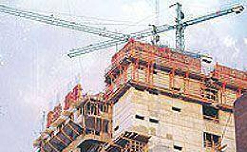 Leve suba de la construcci�n en febrero, aunque en el primer bimestre del a�o perdi� casi 3%