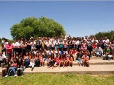 Inauguraron nueve obras en la localidad de Las Lagunas