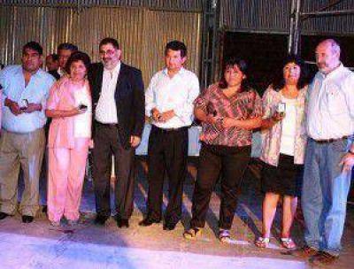 El Intendente �Chuli� Jorge entreg� medallas al personal municipal con 25 a�os de servicios
