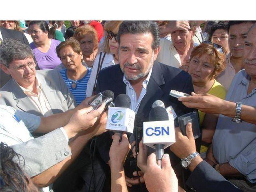 Beder Herrera envió mensaje de condolencias a la familia del ex presidente Raúl Alfonsín.