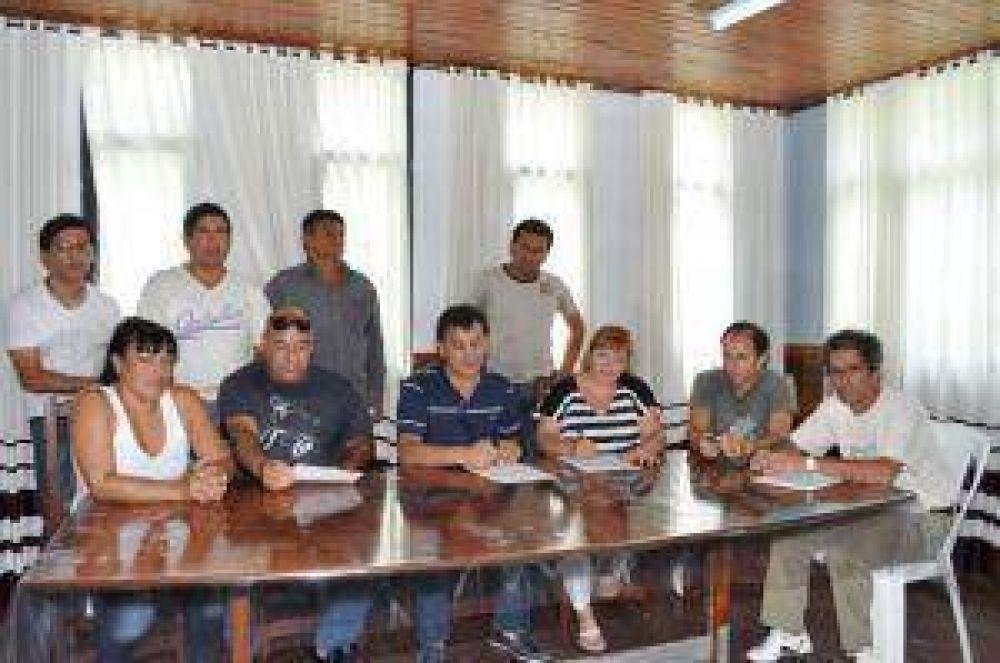 Municipales de Vilelas acordaron mejora salarial del 16% para 2013