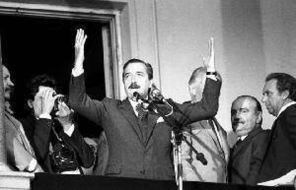 El acto en San Martín y Las Heras, su amigo Llaver y Los Nihuiles.