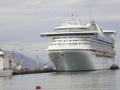 A pesar de todos unos 6 mil cruceristas visitaron Ushuaia
