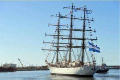 La Fragata Libertad avanza en su travesía y se acerca a Río de Janeiro
