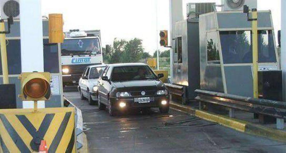 Vuelven a levantar barreras en la autopista