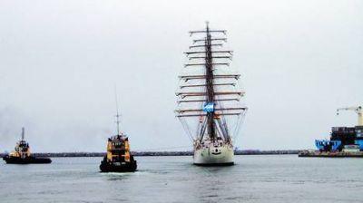 La Fragata será escoltada por 200 barcos en su llegada