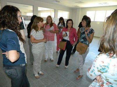 Ministerio de Salud: visitaron la obra de la Nueva Maternidad camino a La Punta