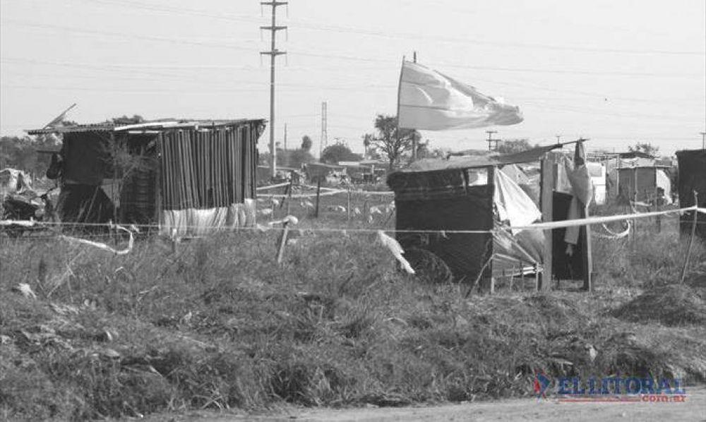 Okupas siguen sin respuesta de la Comisión de Tierra y Hábitat