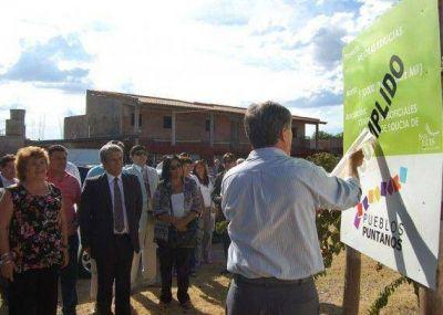 El Gobierno inaugurará proyectos del Programa Pueblos Puntanos en San Francisco y Quines