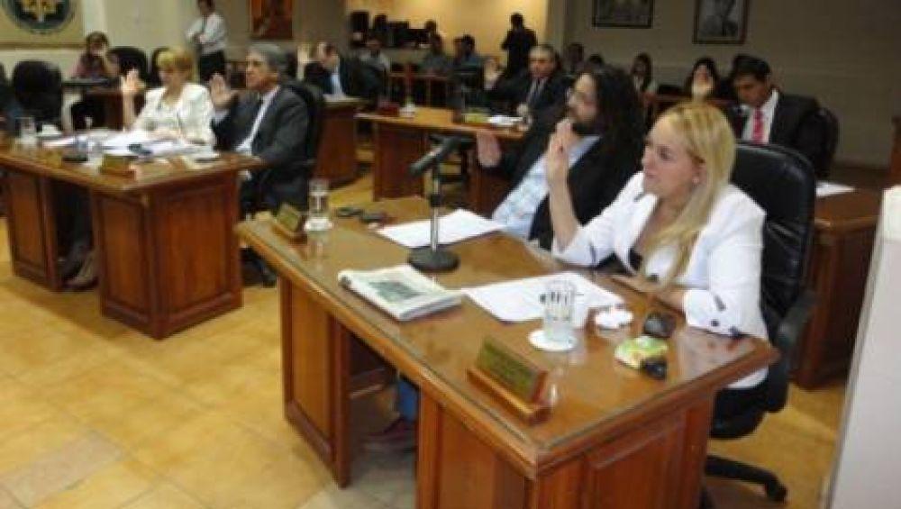 Sancionaron el presupuesto para el Ejecutivo y el Concejo Deliberante