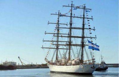 Fragata Libertad: siguen los preparativos para su llegada