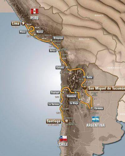 Comienza el Dakar 2013 con Tucumán como sede de descanso