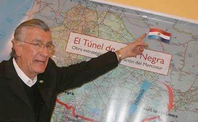 Cuenta regresiva para el túnel: esperan recibir a los funcionarios de Ebitan