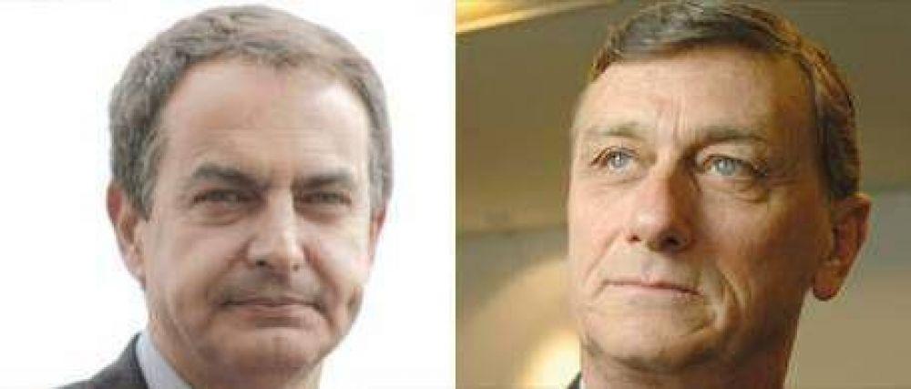 Pese a los intentos de Cristina por ganar su apoyo, el candidato de Zapatero es el socialista Hermes Binner