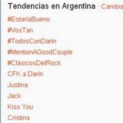 #TodosConDarín se convirtió en tendencia