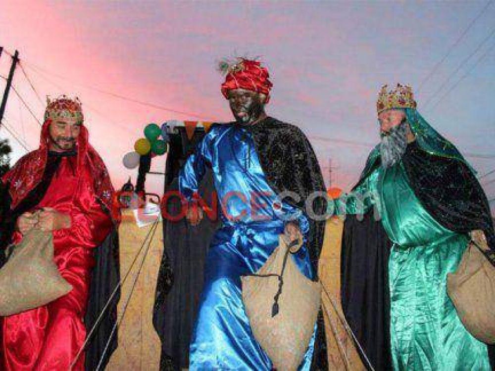 Los Reyes Magos llegaron al predio y culminó la edición 49 de la Fiesta Provincial