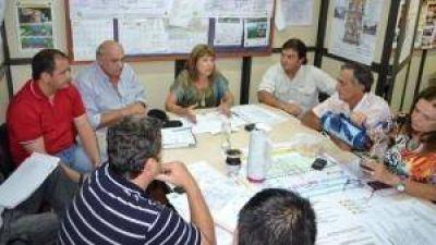 El Comité de Emergencia planificó tareas ante inclemencias climáticas