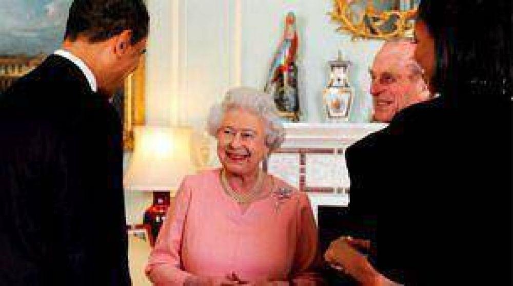 Obama le regaló un Ipod a la Reina