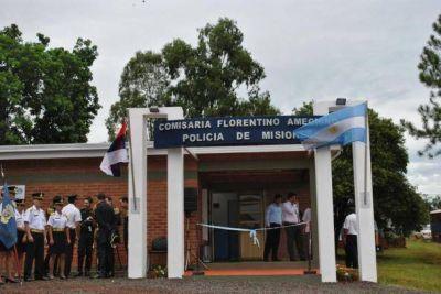 Closs inauguró el edificio de la nueva comisaría de Florentino Ameghino