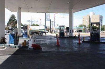 Una protesta en Chubut dejó a Caleta sin nafta