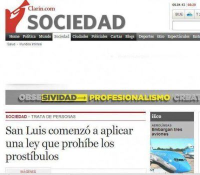 Amplia repercusión por el cierre de prostíbulos en San Luis