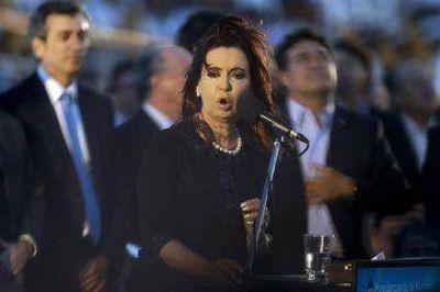 Regreso de la Fragata: fuerte discurso de CFK