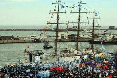 Más de 500 mil personas recibieron a la Fragata