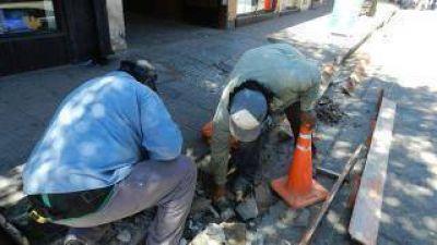 Inician los trabajos del cableado subterráneo en el microcentro