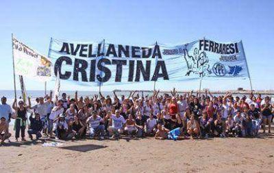 Avellaneda estuvo presente en el regreso de la Fragata Libertad