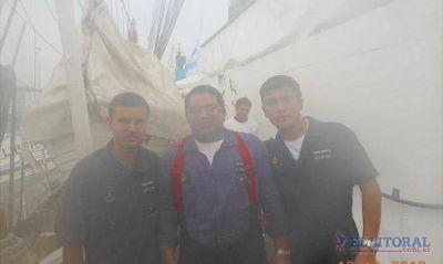 Testimonios de los correntinos que volvieron con la Fragata