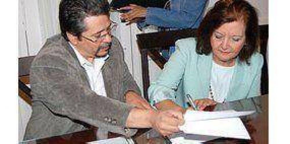 Acuerdo entre la UNSL y el Ministerio de Salud.
