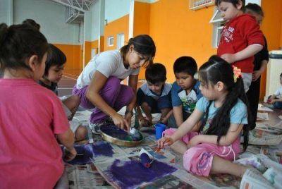 Los chicos disfrutan a pleno de las actividades de las Colonias de Vacaciones 2013