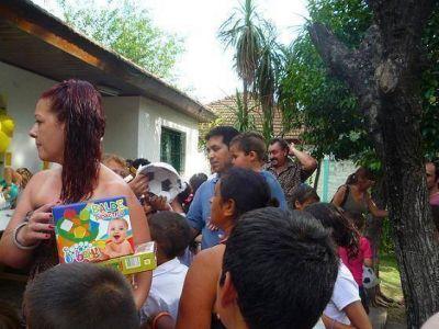 La agrupación Espacio PRO San Martín festejó Reyes con 600 niños