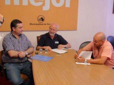 Goya: se firmó un convenio para el área tecnológica