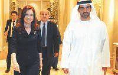Cristina firmó en Emiratos Árabes acuerdos agrícolas y de energía