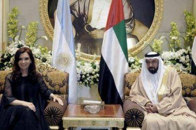 "La Presidenta destacó el ""excelente diálogo"" en Emiratos Árabes"