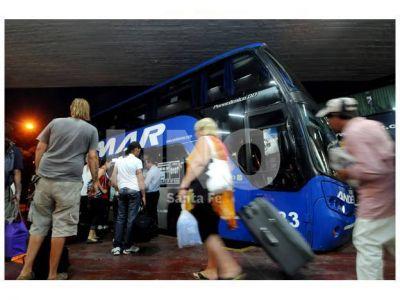 Arrancó el recambio turístico, pero con menos pasajeros que el 2012