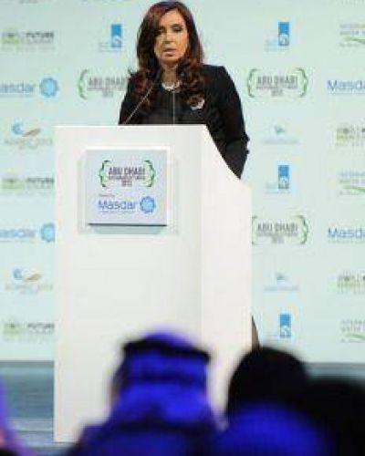 """CFK: """"La distribución de la energía implica la lucha contra la pobreza"""""""