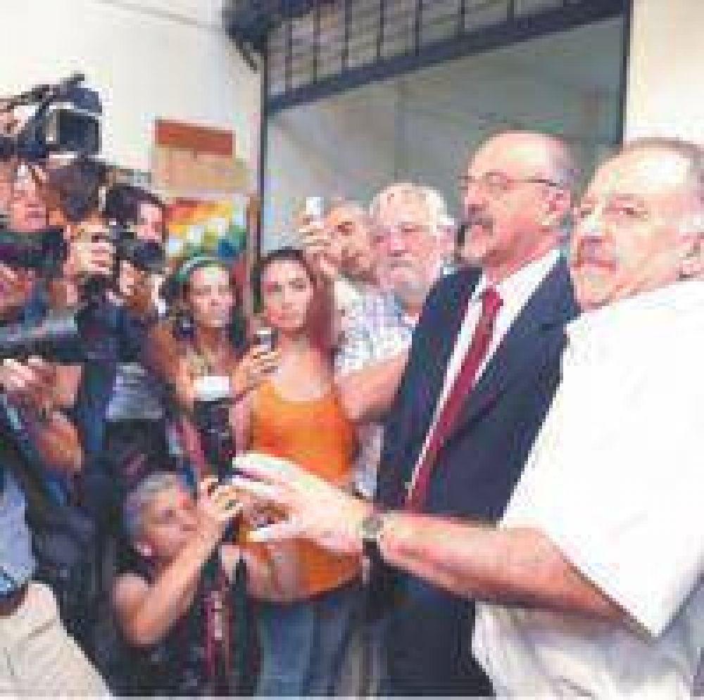 Optimismo en la CTA tras el encuentro con Carlos Tomada
