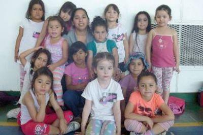 Las Colonias de Verano tienen una marcada concurrencia de niños