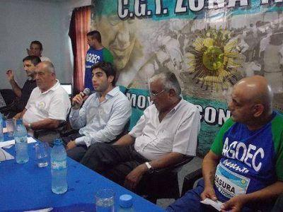 Facundo Moyano disertó en Olivos
