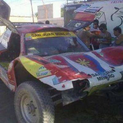 Dakar 2013: Un problema de frenos atrasó a Los Sisterna en la 10° etapa