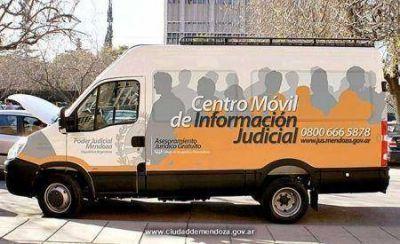 El Móvil Judicial visita los departamentos