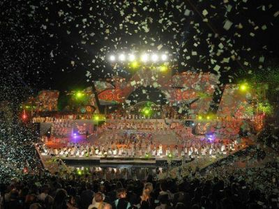 Las entradas para la Fiesta Nacional de la Vendimia costar�n entre 20% y 60% m�s este a�o que en 2012