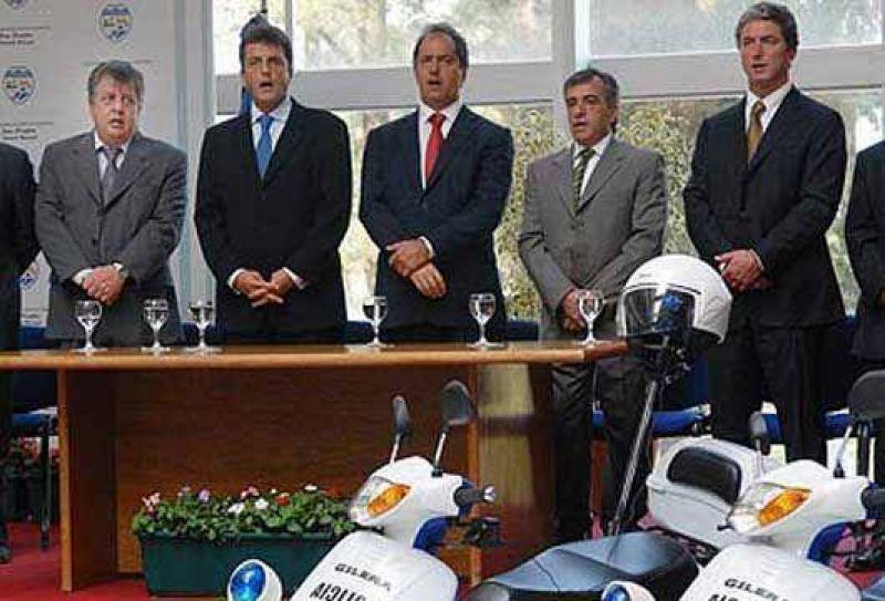 30 motocicletas para Malvinas Argentinas.